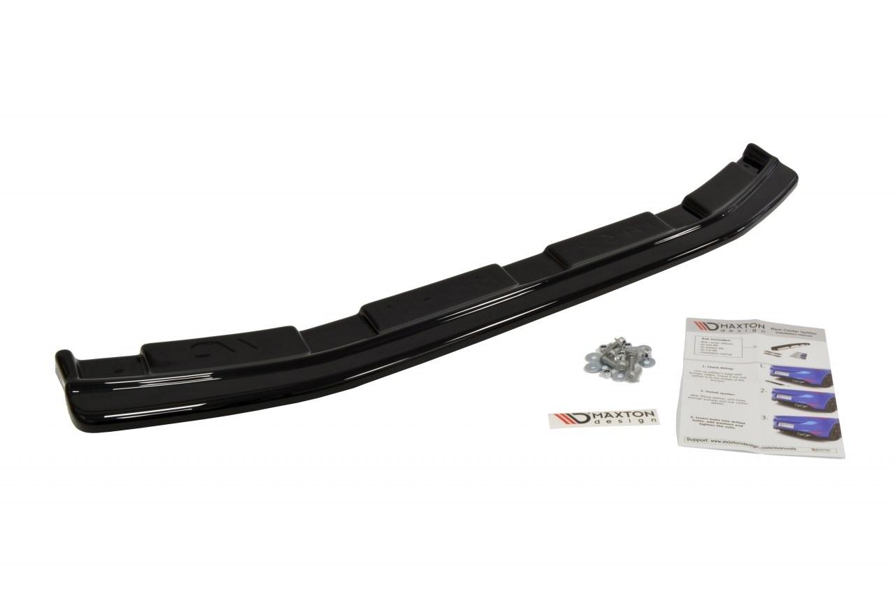 Splitter Tylny Środkowy Mazda 3 MK2 MPS (Bez dyfuzora) - GRUBYGARAGE - Sklep Tuningowy